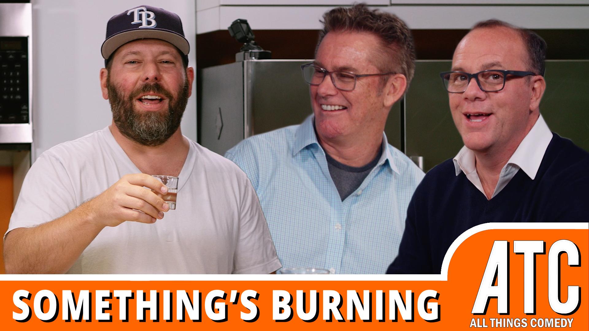 Brian Regan & Tom Papa Make Peanut Butter Brittle | Something's