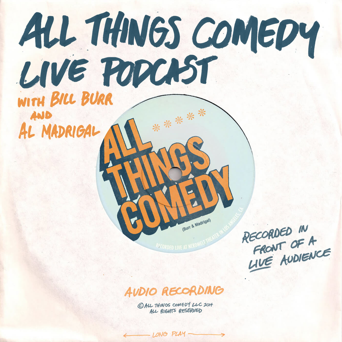 Album Artwork for All Things Comedy Live Podcast